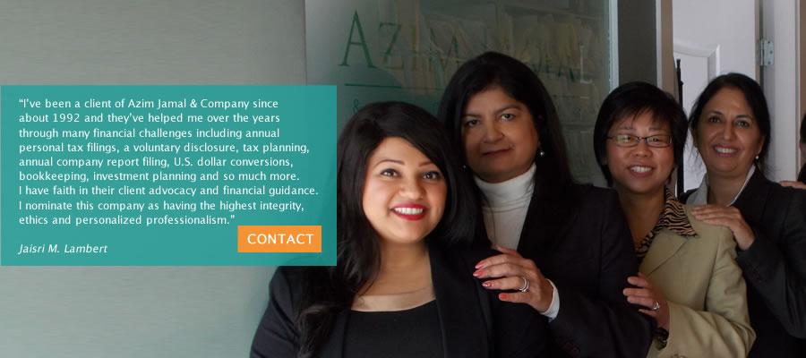 Azim Jamal & Co contact information